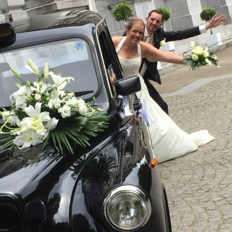 London Taxi Mariage