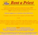 RENT A PRIEST