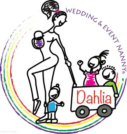 DAHLIA WEDDING EN EVENT NANNY