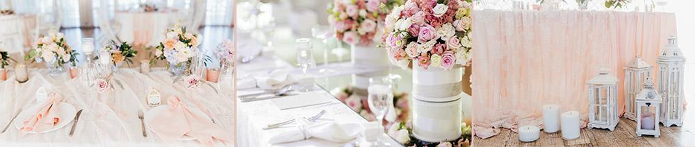 Table romantique chic