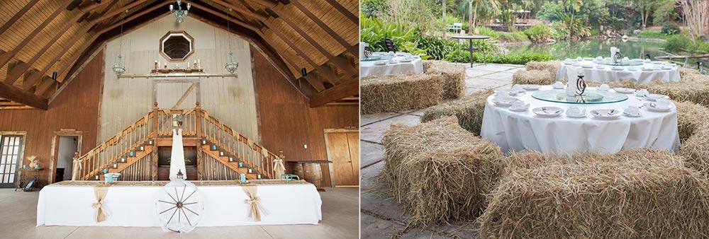 salle de réception grange mariage champêtre